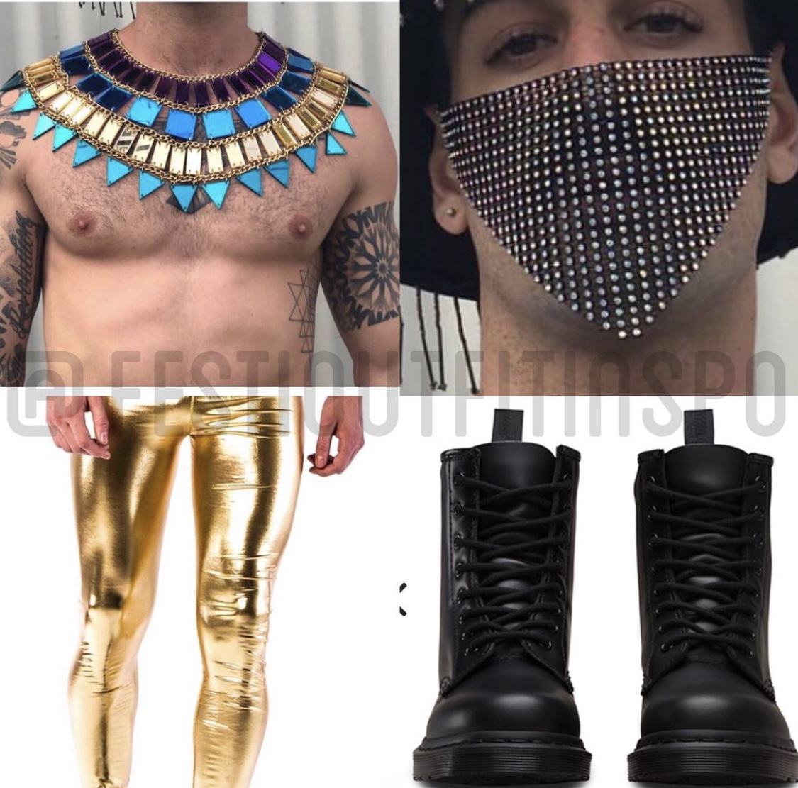 Mens Music Festival Outfit