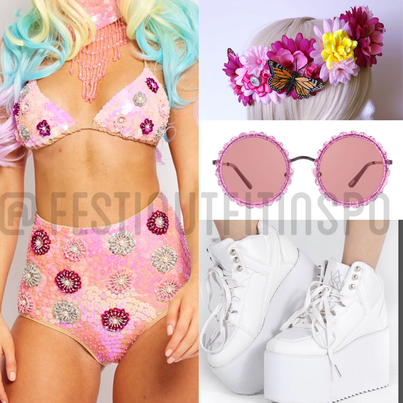 electric daisy carnival outfit