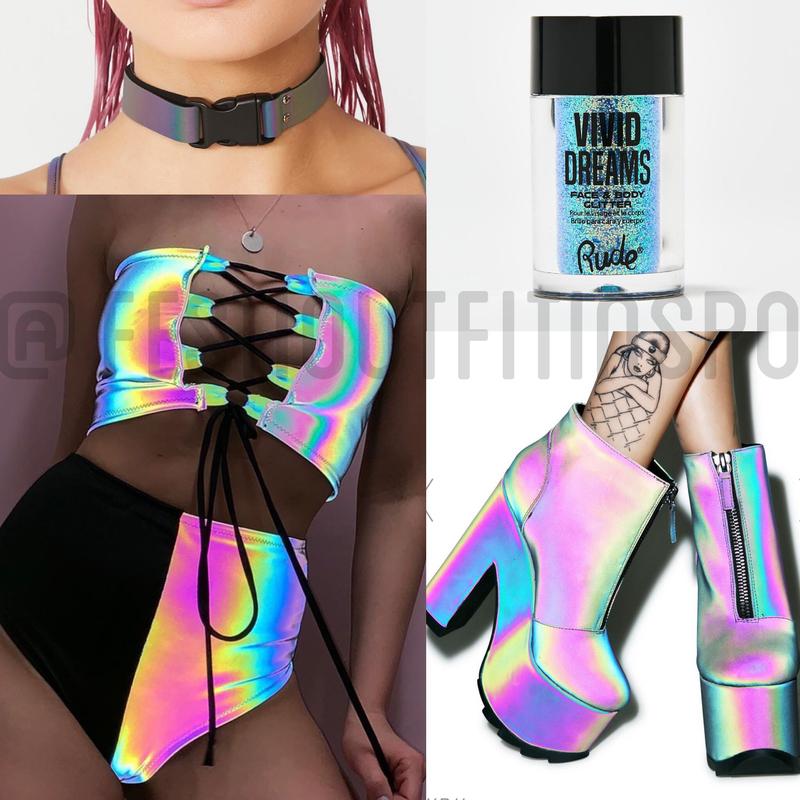 reflective ravewear