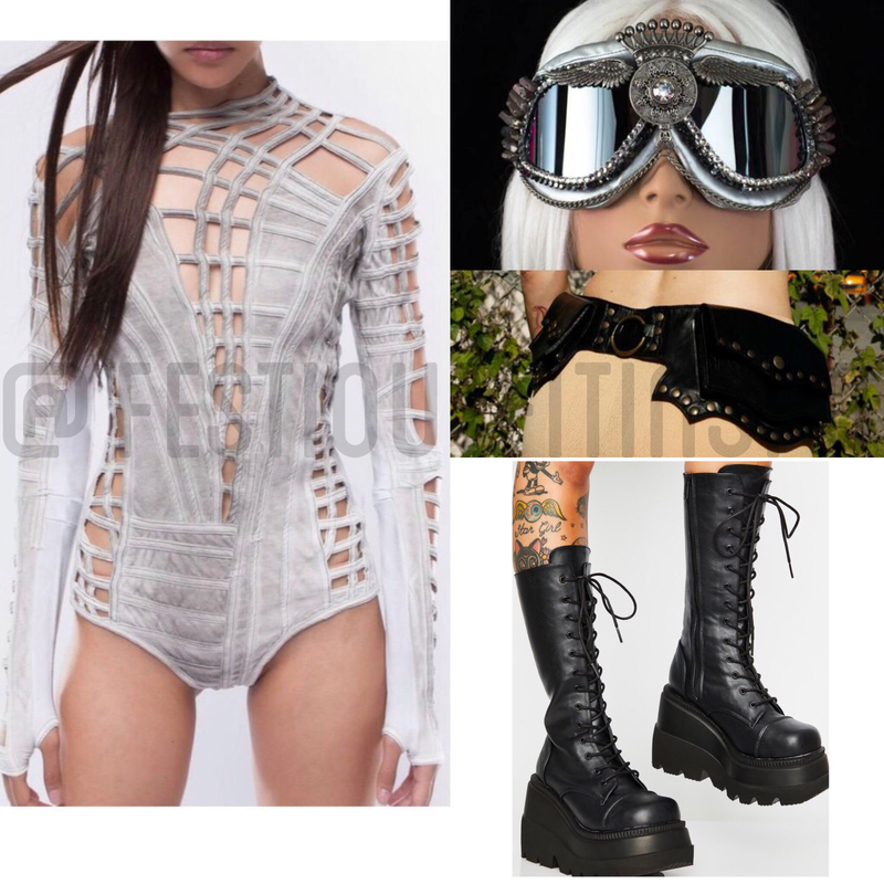 Burning Man Outfit