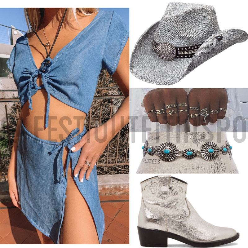 cowgirl festival outfit
