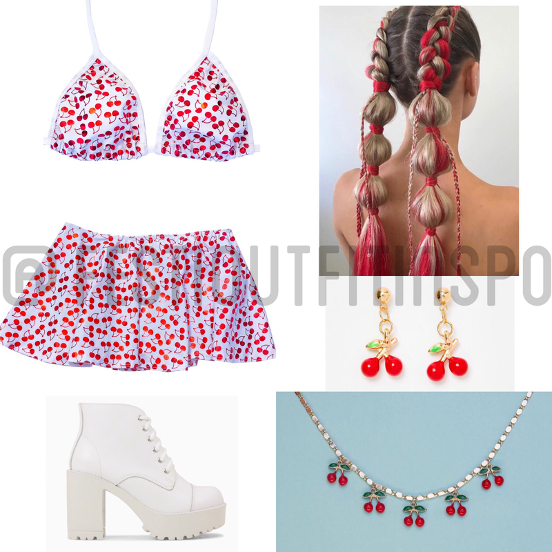 Cherry Rave outfit