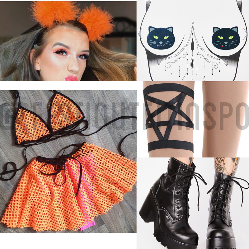 Halloween Rave Outfit