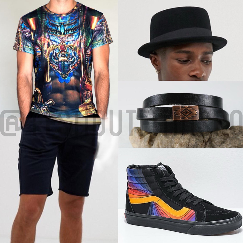mens festival clothes