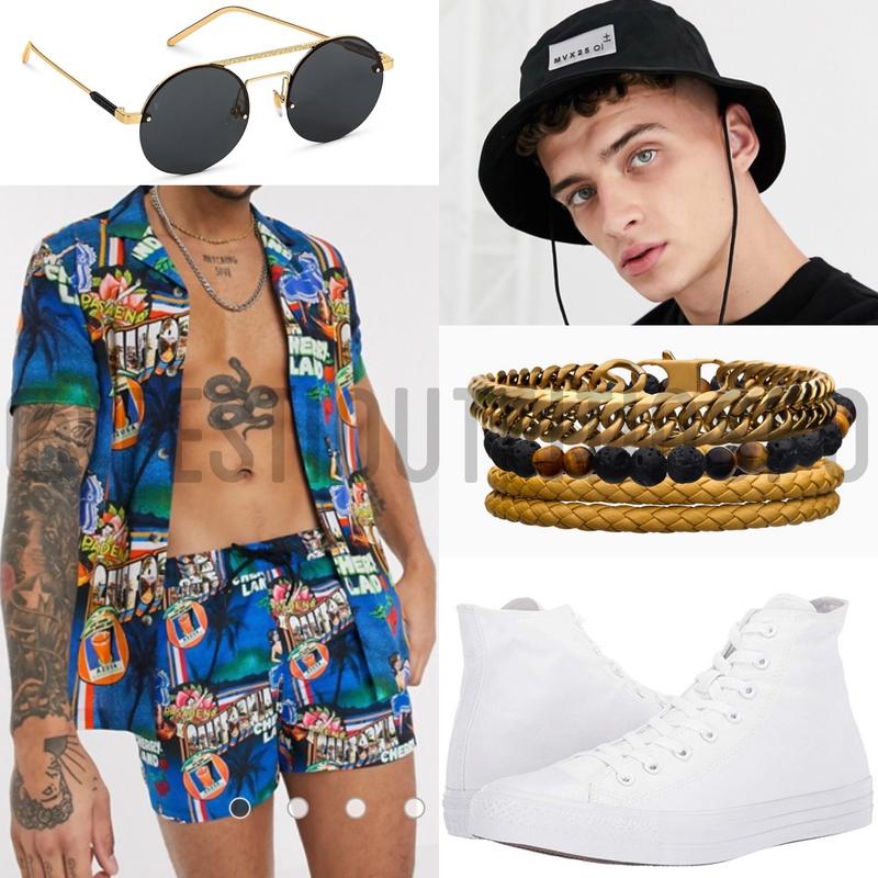 mens festival fashion